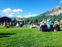 It's a beautiful summer in Crested Butte! Enjoy free Alpenglow concerts on Mondays put on by the Center for the Arts!