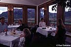 Dining at the Skyland Lodge