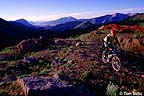 Mountain biking in the high country