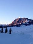 Sunset in Crested Butte. Always breathtaking.