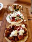 Tasty tacos from new restaurant, Bonez, in Crested Butte!