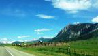 A beautiful drive into Crested Butte, Colorado!
