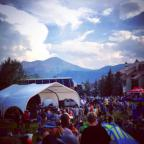 Alpenglow summertime concert series in Crested Butte, Colorado! <br><br>Photo by: Teresa Cesario