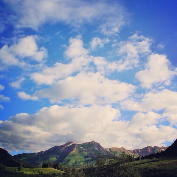 Big skies in Crested Butte,Co<br>Photographer: Teresa Cesario