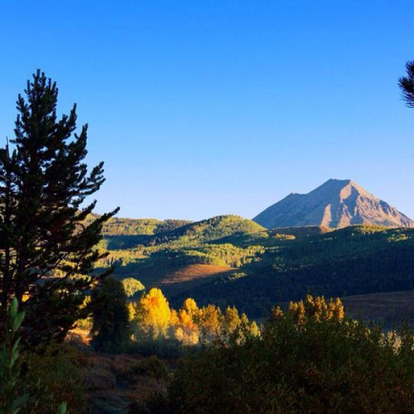 September 16th in Crested Butte, Colorado. Going from, always beautiful to unbelievable!!