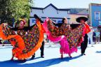 Colorful Folklorico bands and dancers greeted party goers at Whatever USA and entertained the masses!