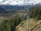 View from the Silver Queen lift on Mt. Crested Butte!